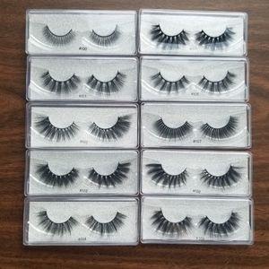 10 Pairs False Eyelashes